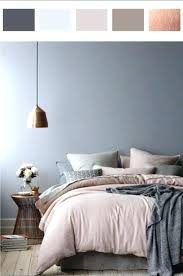rose gold and grey bedroom – european