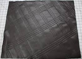 Quilting With Faux Leather | Stitching Sewcial & Fleece side, finished. quilting leather (243)-cropped Adamdwight.com