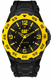 men s cat caterpillar motion black and yellow rubber strap watch men s cat caterpillar motion black and yellow rubber strap watch lb17121137