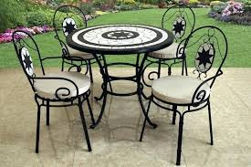 tile outdoor table. Mosaic Outdoor Table And Chairs Creative Of Plastic Bistro Tile