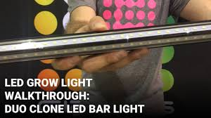 Grow Light Duo Duo Clone Led Grow Light Product Walk Through