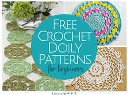 Free Crochet Patterns For Beginners Custom 48 Free Crochet Doily Patterns For Beginners FaveCrafts