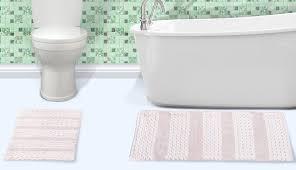 kohls decor yellow dark and light runner pictures target blue white gray set bathroom bath sets