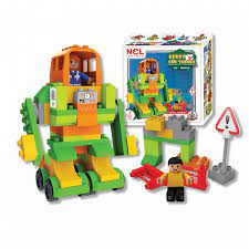 Bộ xếp hình sáng tạo Nhựa Chợ Lớn 347 - M1747-LR