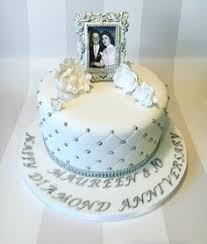 19 Delightful 40th Wedding Anniversary Cake Images Ruby Wedding