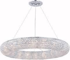 elegant 2114g41c rc paris chrome halogen chandelier light loading zoom