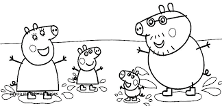 peppa pig friends coloring pages pig coloring pages printable unique best pig coloring sheets free printable
