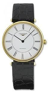 longines la grande classique automatic 18kt gold mens watch white longines la grande classique automatic 18kt gold mens watch white dial l4 738 6 11 2
