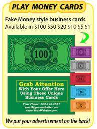 Drop Cards Sizzle Cards 20 Dollar Bill Drop Cards 100 Dollar