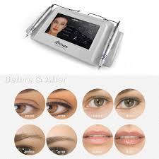 artmex v8 permanent makeup tattoo machine eye brow lip rotary pen mts pmu system cod
