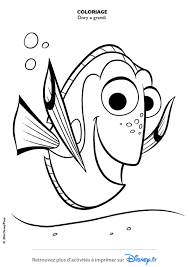 Coloriages Dory Disney Coloriages Fr