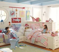 Pottery Barn Kids Bedroom Furniture Pottery Barn Kids Bright Stripes Bedding Decor Look Alikes