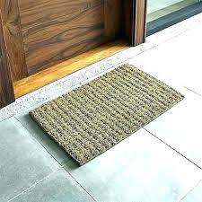 ultra thin indoor doormat personalized outside door mats monogrammed front mat simple fall entry knotted doo