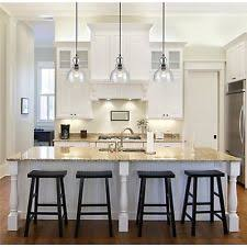 Island pendant lighting Copper Industrial Pendant Light Glass Ceiling Lamp Lighting Fixture Kitchen Island Ebay Kitchen Lighting Ebay