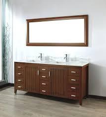 wood framed mirrors. Art Bathe Cherry Double Bathroom Vanity Wood Framed Mirrors White