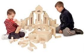 melissa doug standard unit solid wood building blocks