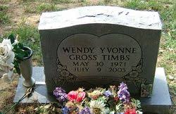 Wendy Yvonne Gross Timbs (1971-2005) - Find A Grave Memorial