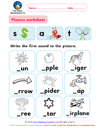 Phonics worksheets and online activities. Phonics Worksheet S Ae T The Kids Worksheets
