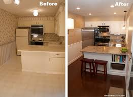 kitchen remodel before and after small affordable modern home with kitchen remodel ideas before and after