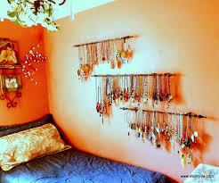 Curtain Rod Jewelry Storage