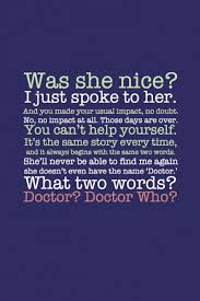 Beautiful Doctor Who Quotes