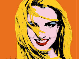 pop art by andy warhol i was inspired by this work because of his use