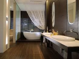 spa bathroom lighting. Spa Like Bathroom Love The Floor To Ceiling Sheer Curtain Lighting