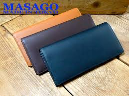 surface leather long wallet