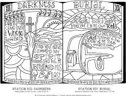 Download Stations Of The Cross Coloring Pages Easter Coloring