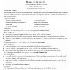 Hospital Resume Seloyogawithjoco Magnificent Resume For Hospital Job