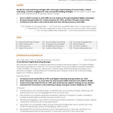 Sales And Marketing Resume Templates Resume Templates Sales Marketing Format And Manager Download For In 17