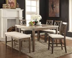 71720 Acme Claudia Counter Height Dining Set White Marble Top