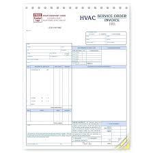 custom service invoices hvac invoice forms service order invoice form large format custom