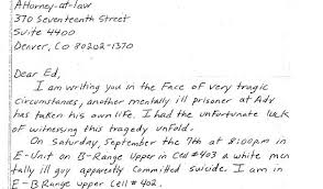 A Handwritten Letter The Prison System Doesn T Want You To See The