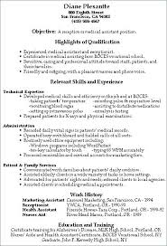 Resume Samples Receptionist Wlcolombia Simple Resume Examples For Receptionist Job