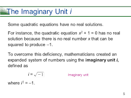 5 some quadratic equations have no real solutions