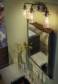 overhead vanity lighting. Bring A Rustic Light Approach To Your Overhead Vanity Lighting In Bathroom. It Is D
