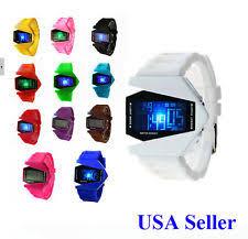 mens watches usa usa multifunction led digital men women aircraft child boy girl sports watches