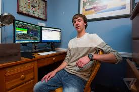the mobile internet enabled one new jersey teen to lead a risky second life as a day trader