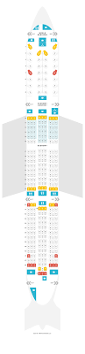Boeing Dreamliner Seating Chart Seat Map Boeing 787 9 789 Klm Find The Best Seats On A Plane