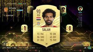 FIFA 21 MOHAMED SALAH PLAYER REVIEW - YouTube