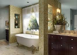 classic bathroom design ideas with white bathtub