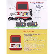 Máy chơi game ARCADE mini di động tích hợp 8.000 trò chơi nổi tiếng một thời  (hồi ức thế hệ 8X, 9X)
