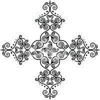Okrasné Kříž Vektory Z Knihovny Clipartme