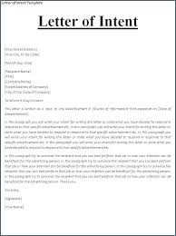 Letter Of Intent Resume Letter To Return A Rfp Letter Of Interest
