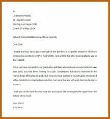 Congratulations Email For New Job 14 Congratulations Letter For Graduation Payroll Slip