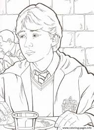 Small Picture Ron From Harry Potter Coloring PagesFromPrintable Coloring Pages