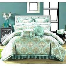 gold bedding set aqua bedding gold bed comforters queen pale aqua gold fl design jacquard motif gold bedding set