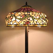 stained glass floor lamp shades the aquaria 2