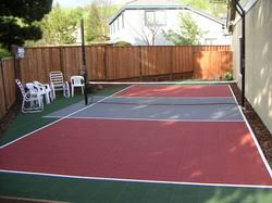 Backyard » Backyard Tennis Court Cost  Inspiring Garden And Backyard Tennis Court Cost